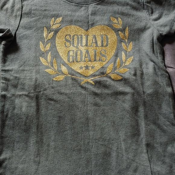 Squad Goals Girls T Shirt
